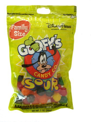 Disney World Parks Goofy Candy Co. Assorted Flavor Sour Balls Family Size 7 oz by Disney (Goofy Candy Co compare prices)