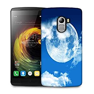 Snoogg blue sky moon Designer Protective Back Case Cover For Lenovo K4 Note