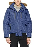GEOGRAPHICAL NORWAY Abrigo (Azul)