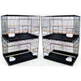 YML Medium Breeding Cages Lot of 4 White