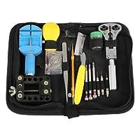 WMicroUK Watch Repair Tool Kit Set, High Quality 144Pcs Watch Repair Tool Kit Set