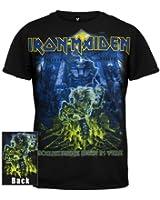 Global Merchandising Iron Maiden Somewhere Back In Time Mummy T-Shirt