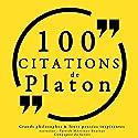 Philosophie pour tous : 100 citations de Platon | Livre audio Auteur(s) :  Platon Narrateur(s) : Patrick Martinez-Bournat