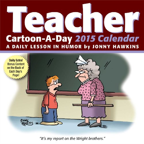 Teacher Cartoon-a-Day 2015 Calendar