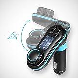 AVANTEK-MM37-FM-Transmitter-kabelloser-Bluetooth-Radiotransmitter-frs-Auto-mit-Aux-Kabel-USB-Speicher-und-SD-Kartenleser