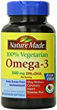 Nature Made Omega 3 Vegetarian Softgels, 540 mg. 60 Count