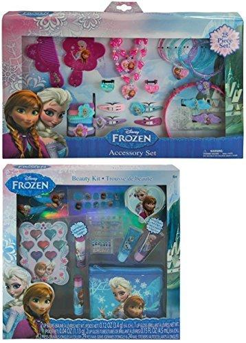 Disney-Frozen-25-Piece-Hair-Accessory-and-Jewelry-Set-Plus-Disney-Frozen-Beauty-Cosmetic-Kit-for-Kids