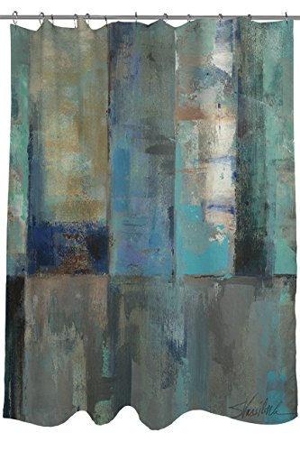 Thumbprintz Shower Curtain, Moonlight Aspen front-483341