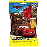 Disney Cars Party Lollipop Rings, (4 Rings Per Bag)