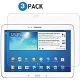 Aukru® 3x film de protection pour écran Samsung Galaxy Tab 3 10.1 P5200 / P5210 / P5220 - TRANSPARENT/UltraClear/ anti reflet - feuille protection Pour tablette samsung (Lot de 3 PACK)