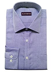 Blacksmith Men's Formal Shirt_1968096031BLSHIRTHB4_Victoria Blue_40