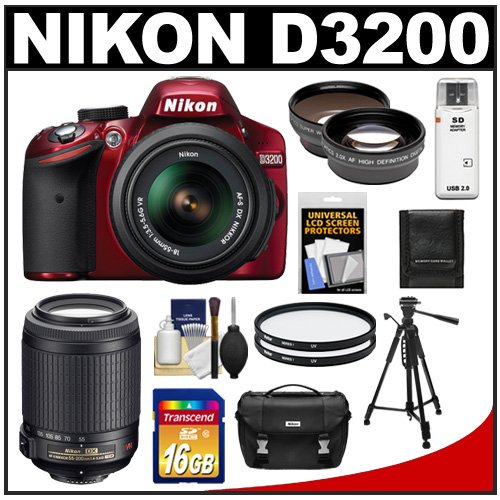 Nikon D3200 Digital SLR Camera & 18-55mm G VR