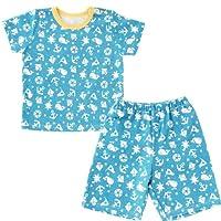 (チャックル) chuckle マリン半袖Tシャツ&ハーフパンツセット ブルー 80cm P3136-80-31