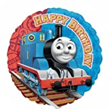 Thomas The Tank Engine & Friends 18'' Round Happy Birthday Helium Balloon