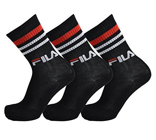 fila-3-paires-de-chaussettes-rue-sport-socks-set-stripes-unisexe-color-black-size-39-42