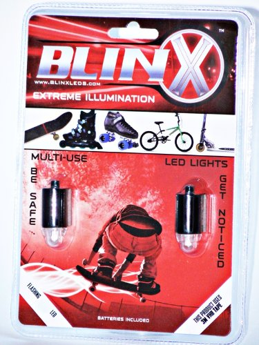 BlinX Action Sports LED's: Green