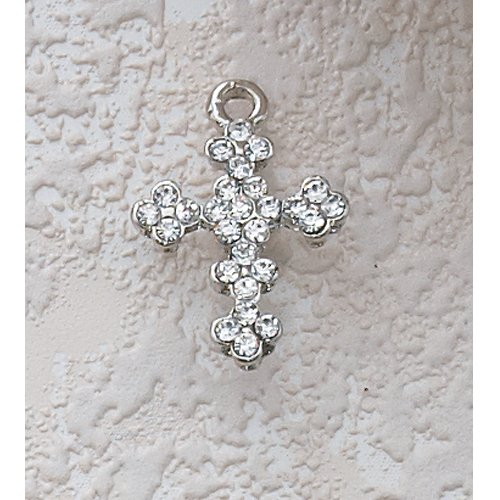 Childrens Girls Cross Necklace with 16