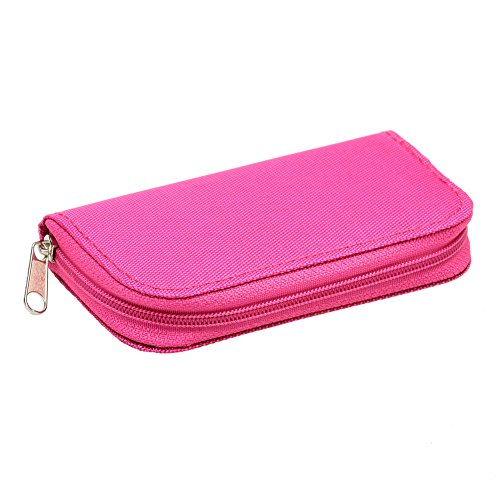 Find Bargain Neewer Portable 22 Slots SD SDHC MMC CF Micro SD Memory Card Durable Case Holder Pouch ...