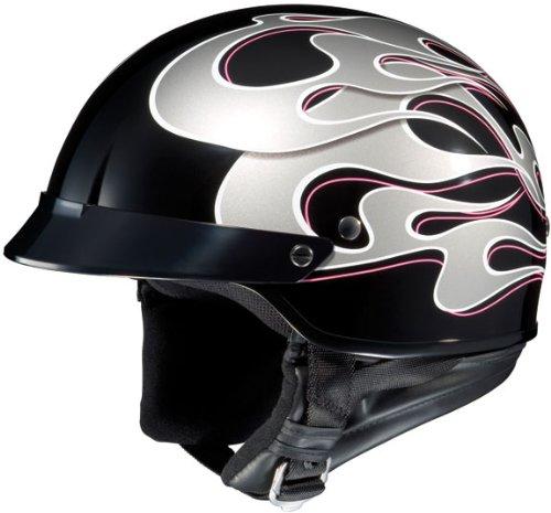 hjc half helmet motorcycle helmet review. Black Bedroom Furniture Sets. Home Design Ideas
