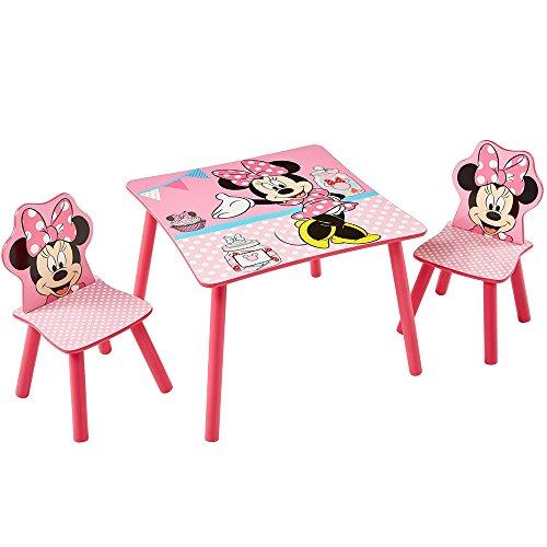 Disney-Kindersitzgruppe-Kindertisch-Kinderstuhl-Sitzgruppe-Kinder-mit-Motivauswahl-Minnie-Mouse
