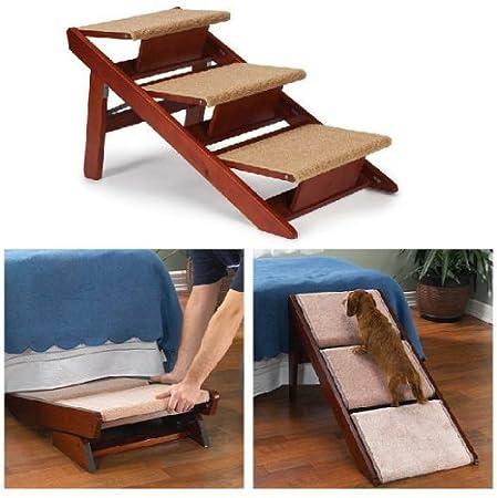 Convertible Pine Frame Dog Ramp/Steps, 3 Step