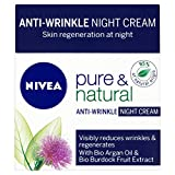 Nivea Visage Pure & Natural Anti Wrinkle Night Cream (50ml)