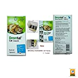Shop 24hours Product Offering Drontal Allwormer for Cats, Roundworms, Tapeworms, Hookworms for Cats 8 Tablets, Expiry Date: 2019.(No Box)