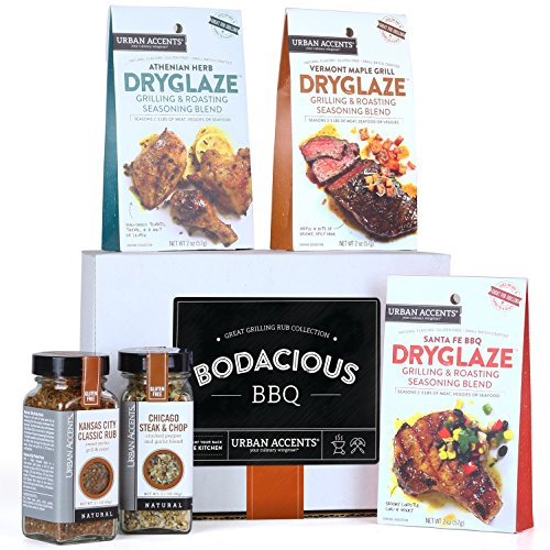 Urban Accents BODACIOUS BBQ Gourmet Grilling Spices and Meat Rub Collection and Gift Set, Perfect for Weddings, Housewarmings or Any Occasion (Texas Sauce Pack compare prices)