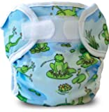 Bummis Super Whisper Wrap, Froggy Pond, 15-30 Pounds (Discontinued by Manufacturer)