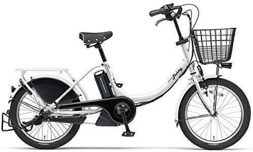 YAMAHA(ヤマハ) PAS Babby 電動自転車 20インチ 2016年モデル [小型・軽量ドライブユニット、8.7Ahリチウムイオン電池、トリプルセンサーシステム] スノーホワイト PA20B