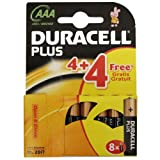All Trade Direct 4 X Duracell Plus Aaa 1.5V Alkaline Batteries Mn 2400 Long Expiry