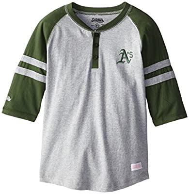 MLB Girl's Colorblocked Henley Shirt