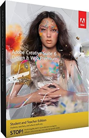 Adobe CS6 Design & Web Student/Teacher Edition Premium, for MAC