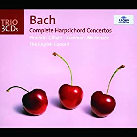 Johann Sebastian Bach: Concerto For Harpsichord, Strings, And Continuo No.7 In G Minor, BWV 1058 - 1. --