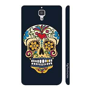 Enthopia Designer Hardshell Case Skull Art Back Cover for Xiaomi MI4