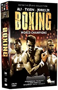 The Definitive Boxing World Champions 3 DVD Box Set - Muhammad Ali, Mike Tyson & Roy Jones Junior