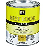 - W44N00804-44 Best Look Interior Wood Stain-PECAN INT WOOD STAIN