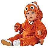 Baby Clown Fish Halloween Costume (Size: 3-6M)