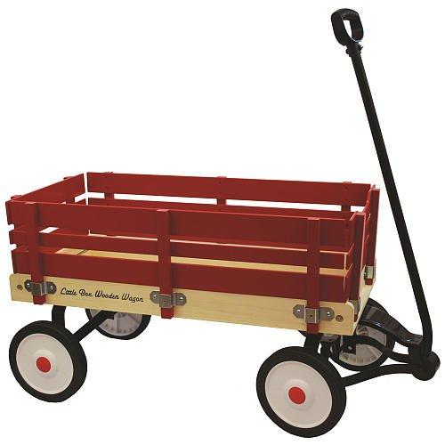 """Little Box 34"""" Wood Paneled Wagon"""