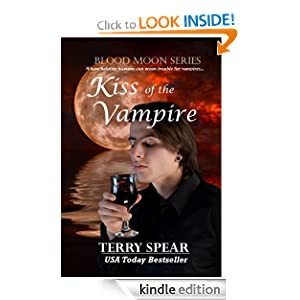 Kiss of the Vampire (Blood Moon) Terry Spear