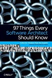 97 Things Every Software Architect Should Know