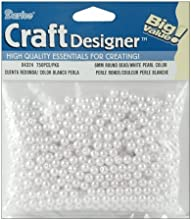 Darice 4324 Pearls 6mm 750Pkg-White