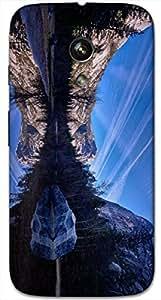 Timpax protective Armor Hard Bumper Back Case Cover. Multicolor printed on 3 Dimensional case with latest & finest graphic design art. Compatible with Motorola Moto -G-1 (1st Gen )Design No : TDZ-27476