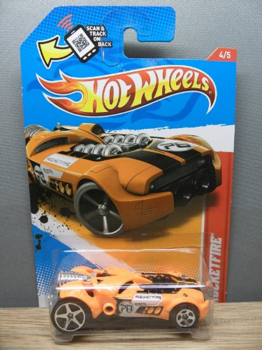 Hot Wheels Thrill Racers- Space '12 - Rocketfire - 1