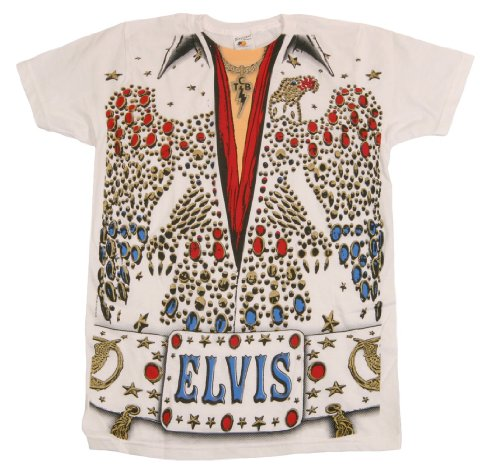 Men s elvis presley eagle jumpsuit vegas big print subway