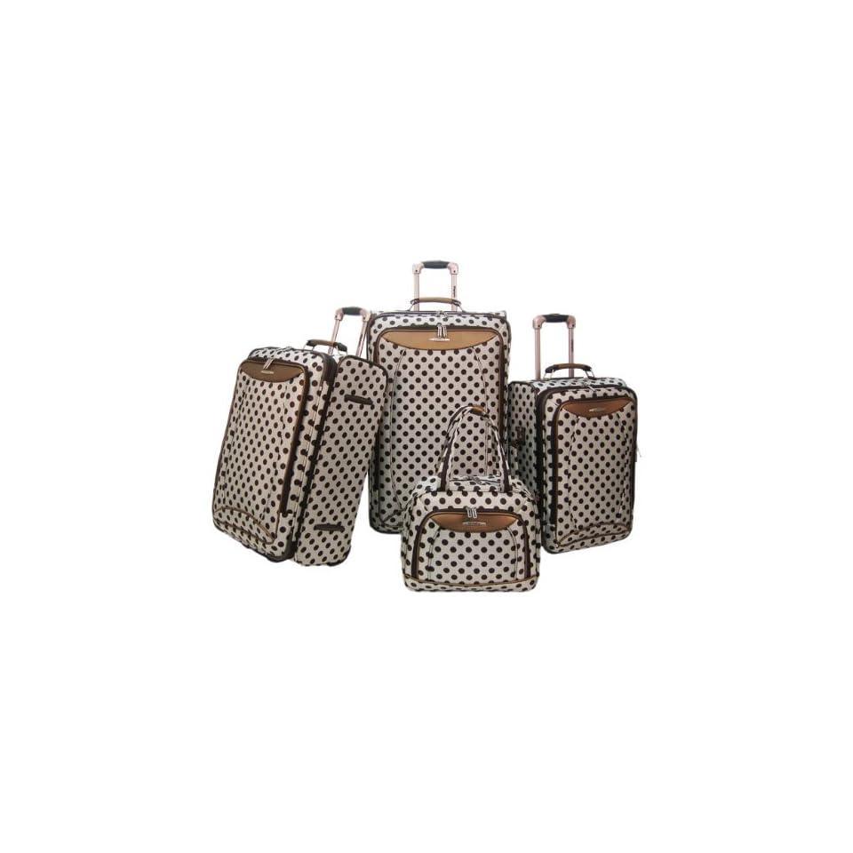 Olympia Spearmint 4 Piece Luggage Set