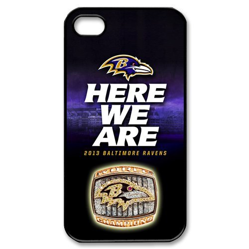 Amazing Design NFL Baltimore Ravens Apple Iphone 4S/4 Case Cover covers at Amazon.com