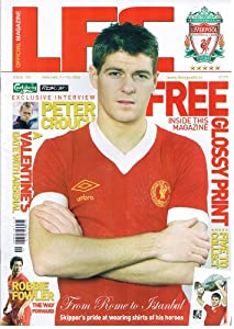 LFC Liverpool football magazine No 183 Feb 2006 inc ALONSO CISSE poster