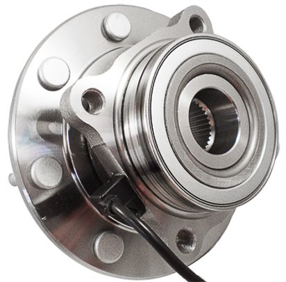 C515058 FRONT Premium Grade [ 8 Lug 4WD ABS ] Wheel Hub Bearing Assembly (Tahoe Ltz Wheels compare prices)