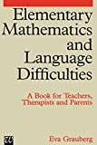 img - for Elementary Mathematics and Language Difficulties book / textbook / text book